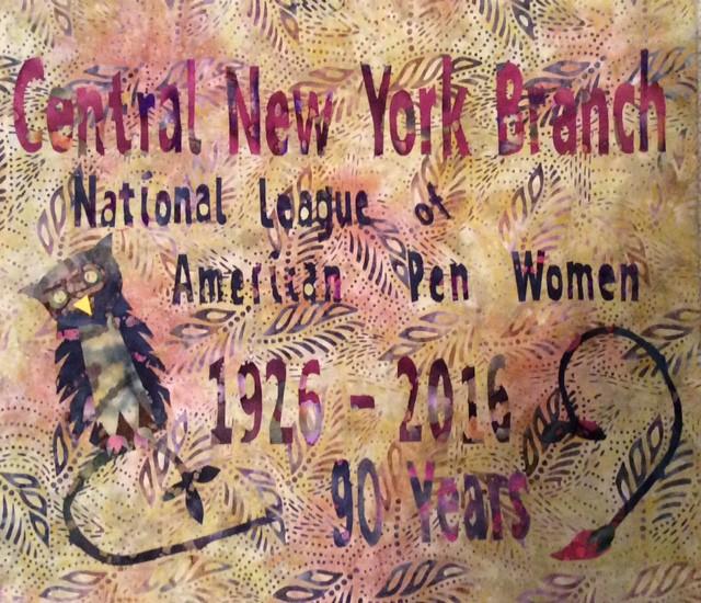 banner for 90th anniversary Barbara Baum